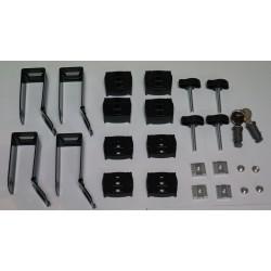 Zespół elementów montażowych SLALOM